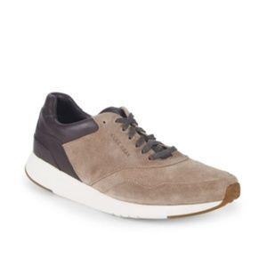 NWT Cole Haan GrandPrø Running Suede Sneaker M9D